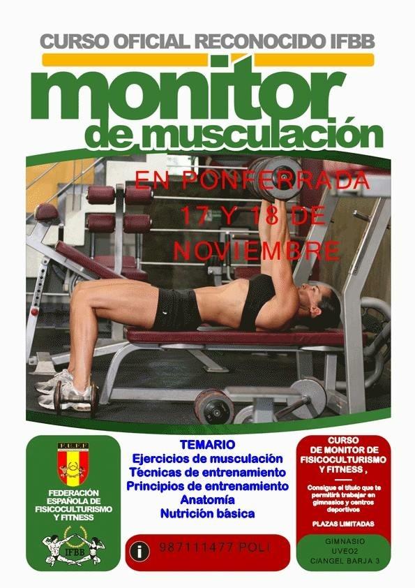 monitor de musculacion 17 y 17 nov